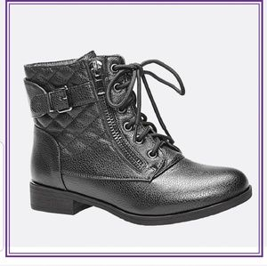 Cloudwalkers Quilted Combat Boots